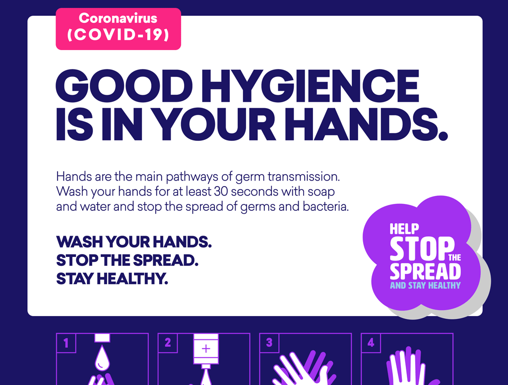 COVID-19 Handwashing Poster & Resources