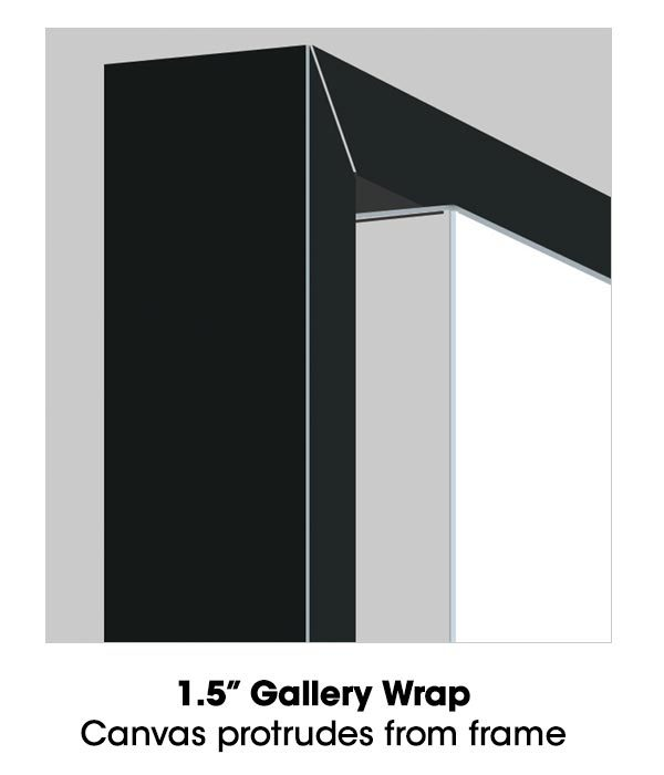 Floating Frame Gallery Wrap