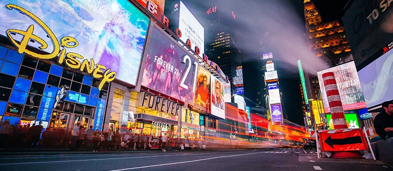 Times Square New York Timelapse
